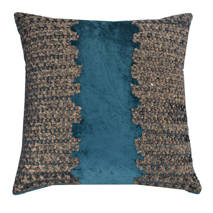 Cloud 9 Adana Pillow, Teal - Accessories - Pillows