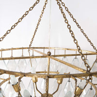 Adeline Round Chandelier, Large - Lighting - High Fashion Home