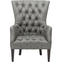 Adelyn Leather Chair, Lil Fog - Furniture - Chairs - Leather