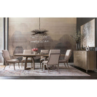 Affinity Rectangle Pedestal Dining Table - Modern Furniture - Dining Table - High Fashion Home
