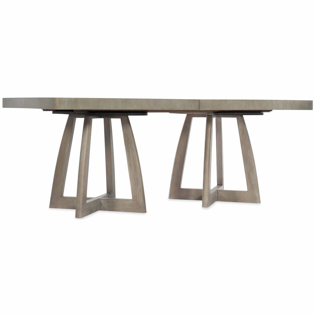 Coffee Table To Dining Table.Affinity Rectangle Pedestal Dining Table High Fashion Home