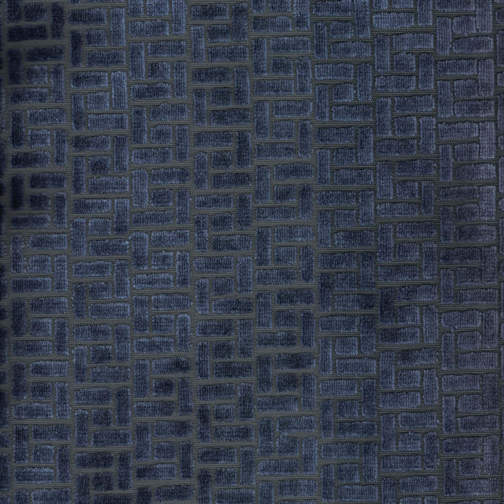 Agar Velvet, Midnight - Fabrics - High Fashion Home