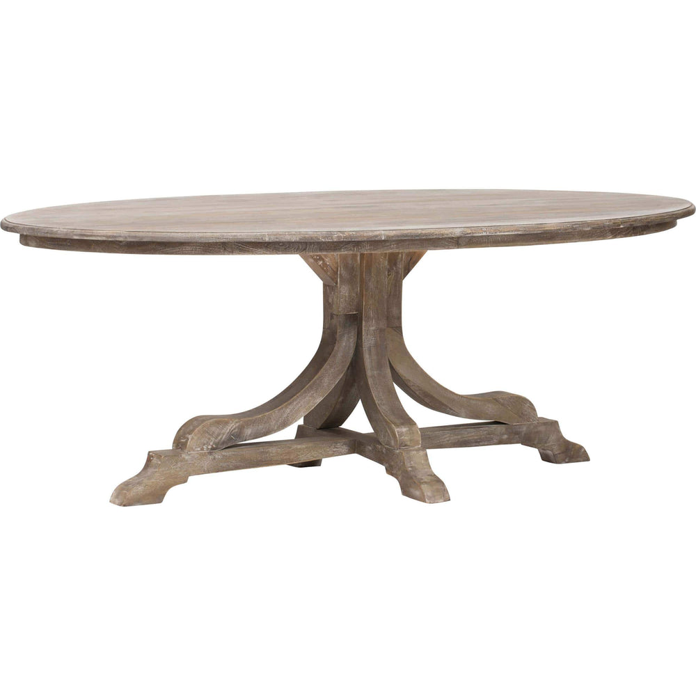 Aimee Oval Dining Table - Modern Furniture - Dining Table - High Fashion Home