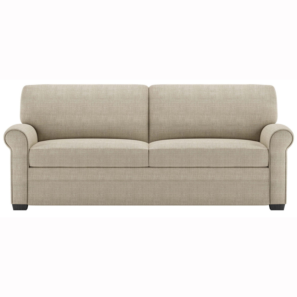 American Leather Gaines Queen Sleeper Sofa, Turkish Blend Cream - Furniture - Sofas - Fabric