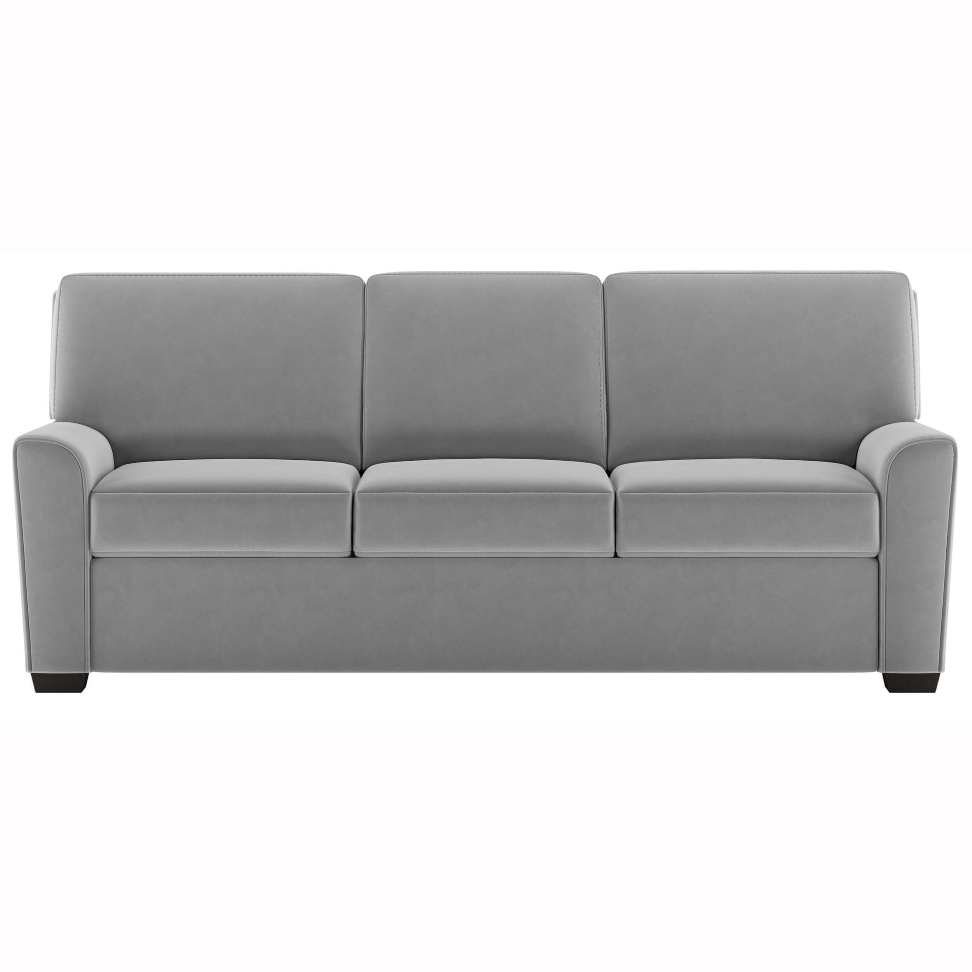American Leather Klein Queen Sleeper Sofa, Toray Ultrasuede French Gray