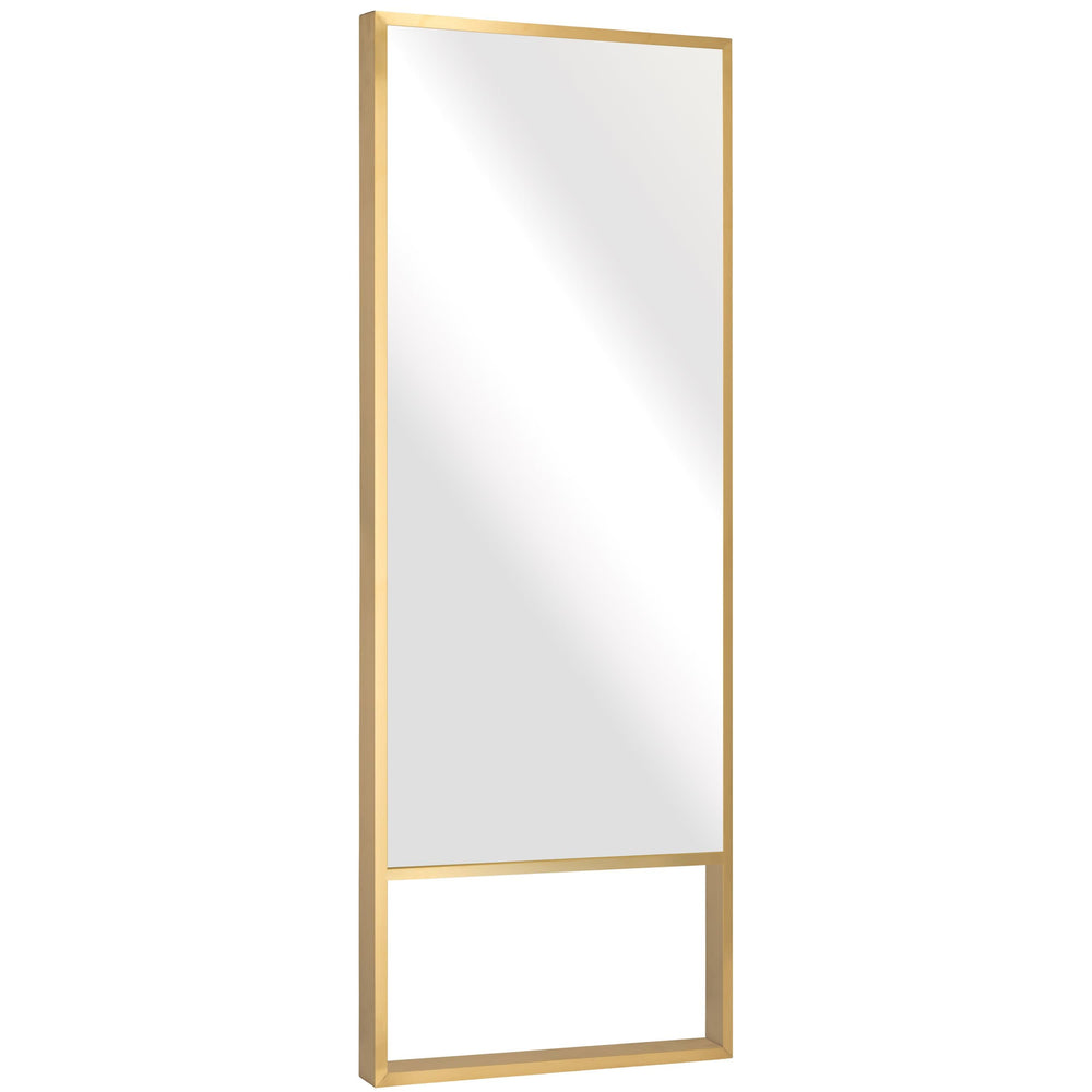 Alexa Floor Mirror, Gold - Accessories - High Fashion Home
