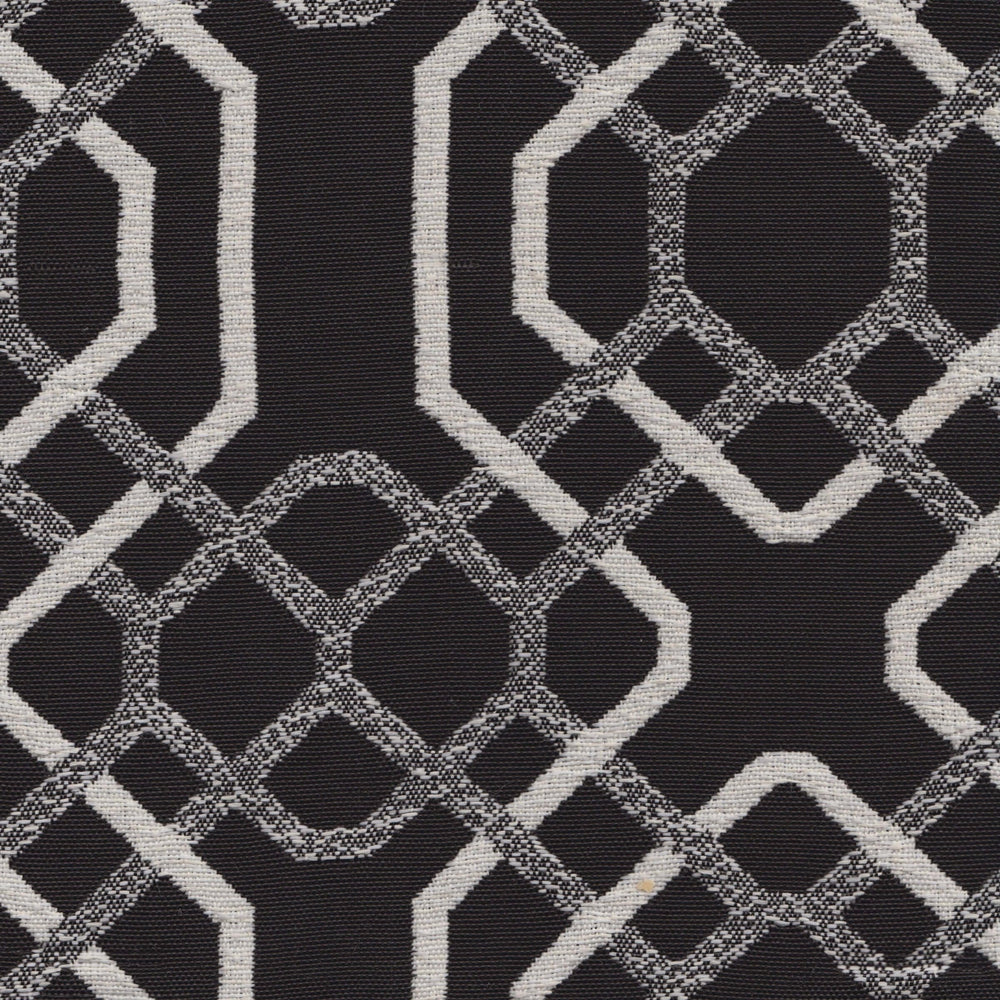 Alexandria Woven, Black/White - Fabrics - High Fashion Home
