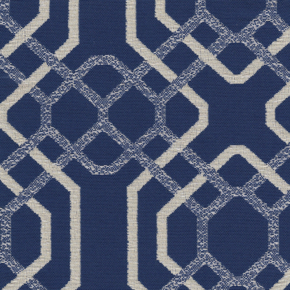 Alexandria Woven, Indigo - Fabrics - High Fashion Home