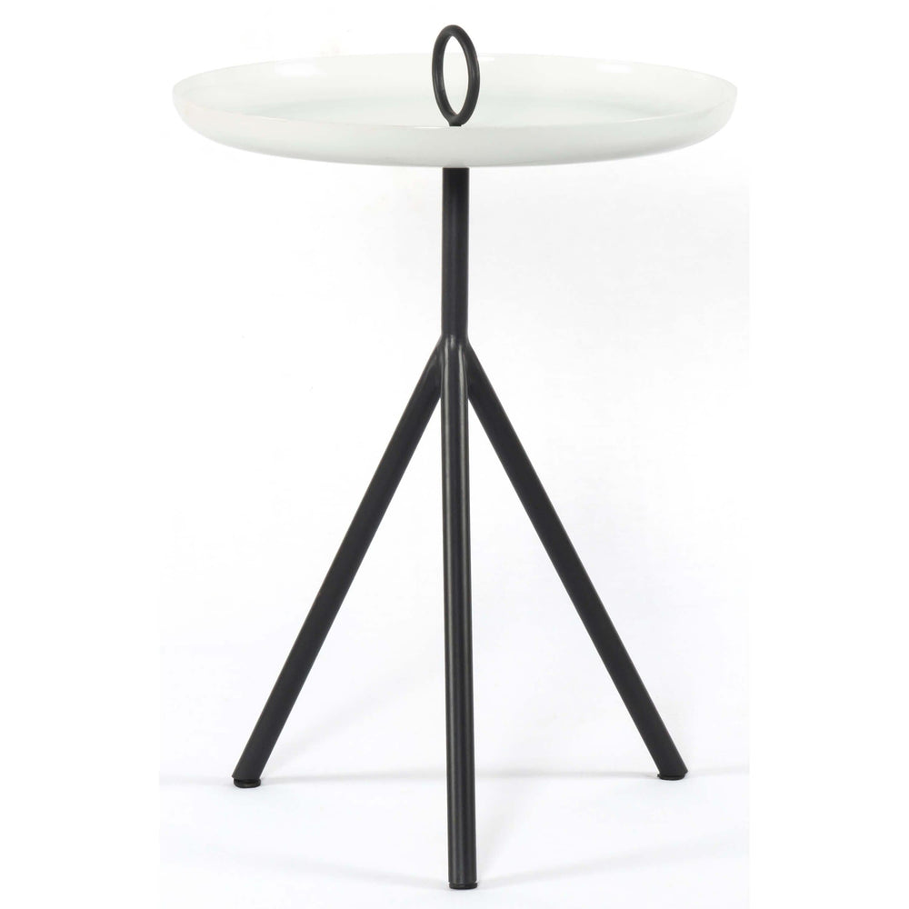 Alora End Table, Charcoal