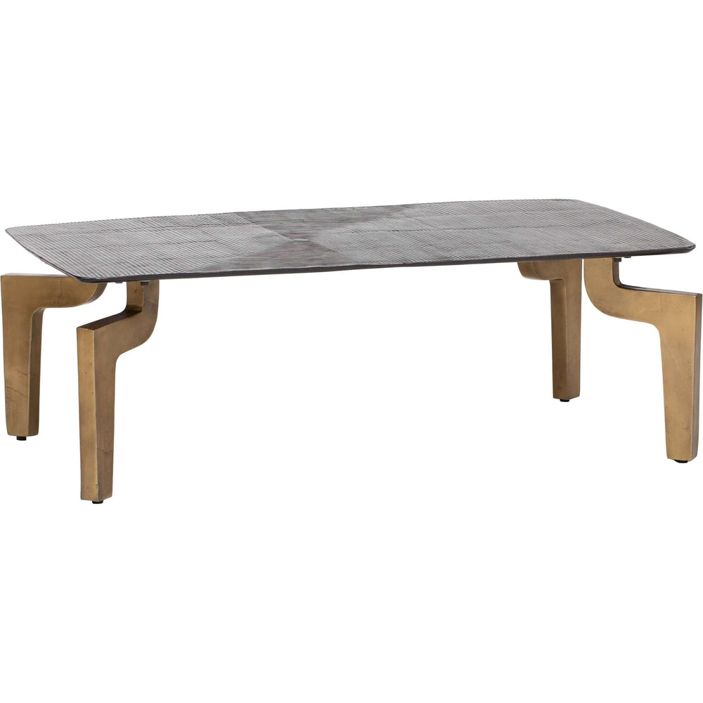 Aluminum Cocktail Table - Modern Furniture - Coffee Tables - High Fashion Home