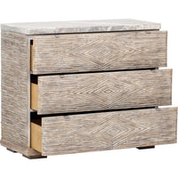 American Life Amani 3 Drawer Accent Chest - Furniture - Bedroom - High Fashion Home