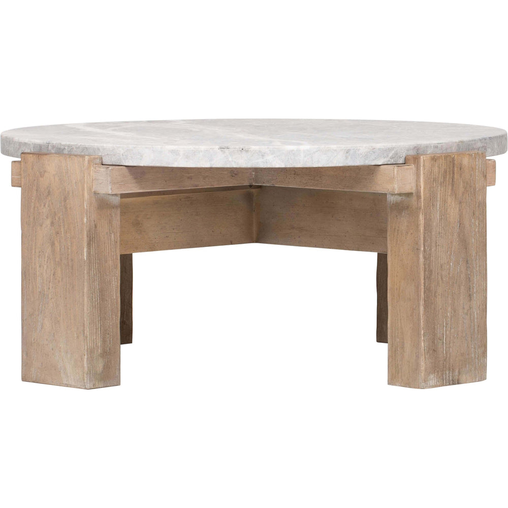 American Life Amani Round Cocktail Table