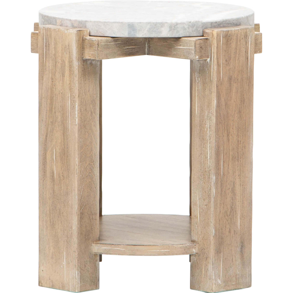 American Life Amani Round End Table - Furniture - Accent Tables - High Fashion Home