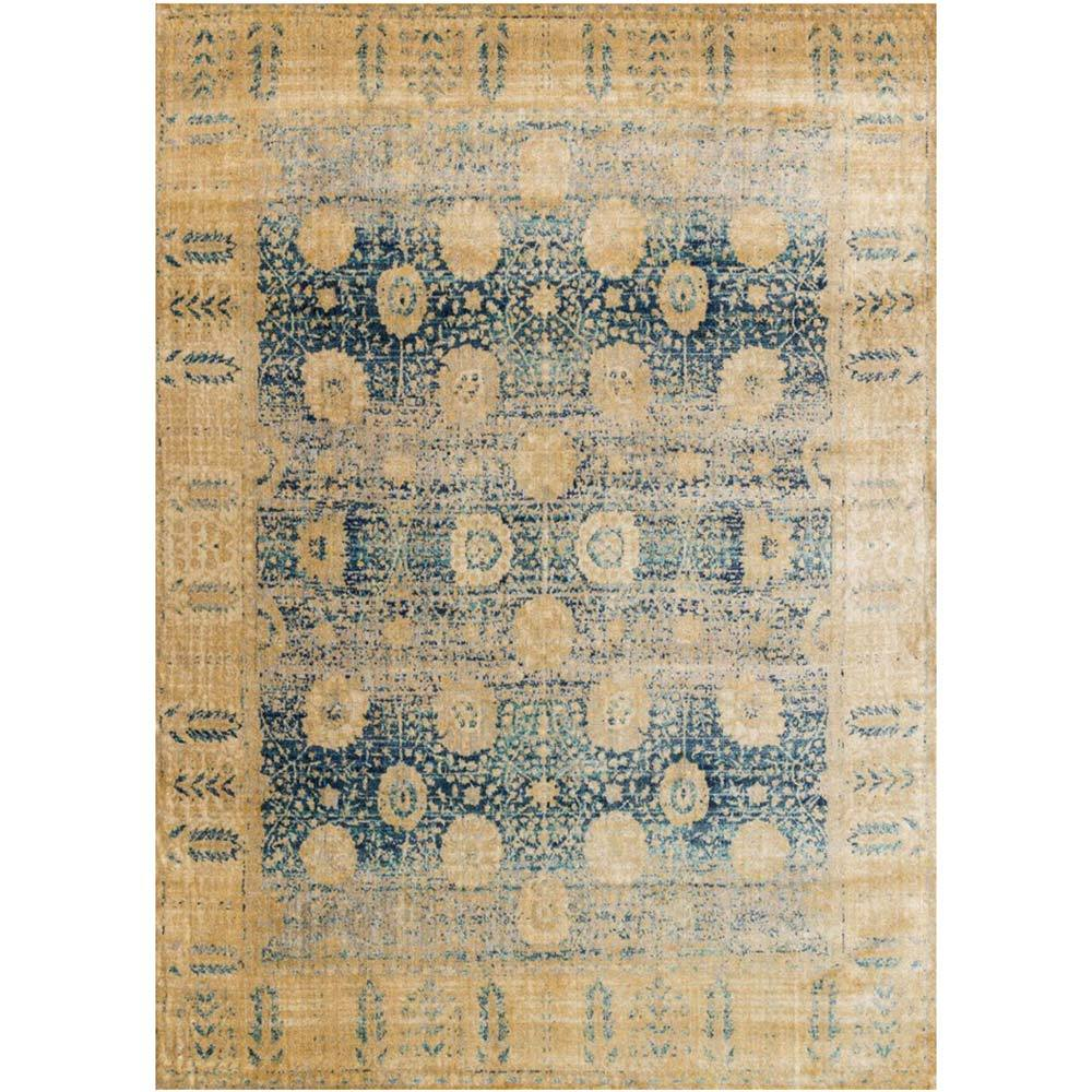 Loloi Rug Anastasia AF-09 Blue Gold - Accessories - Rugs - Loloi Rugs
