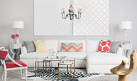 Andre Slipcover Sectional, Deso Snow - Modern Furniture - Sectionals - High Fashion Home