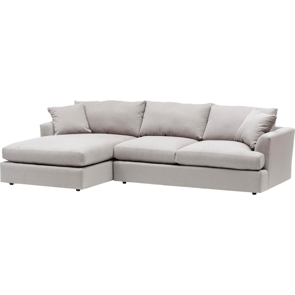 Andre Sectional, Dawson Cement - Modern Furniture - Sectionals - High Fashion Home