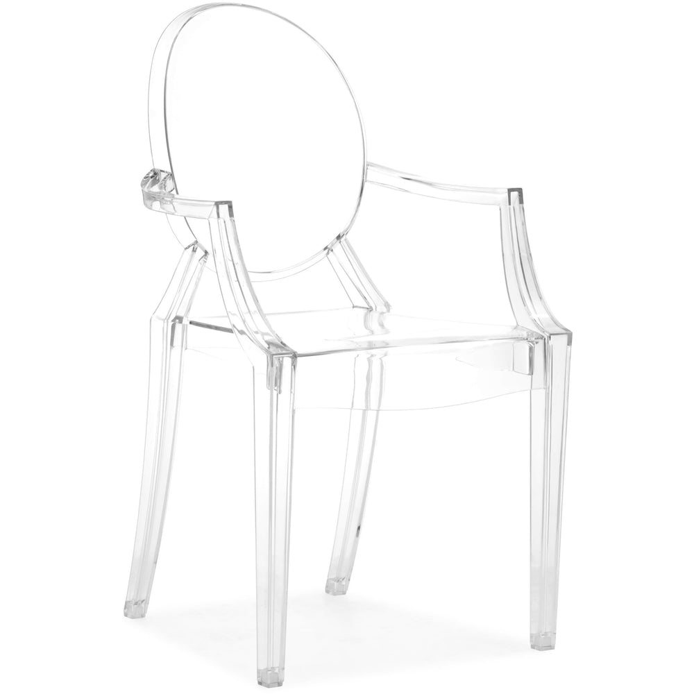 Anime Arm Chair, Transparent - Furniture - Dining - Chairs & Benches