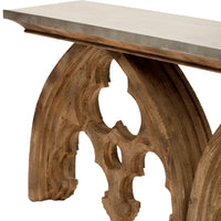 Arched Cathedral Table - Furniture - Accent Tables - Console Tables