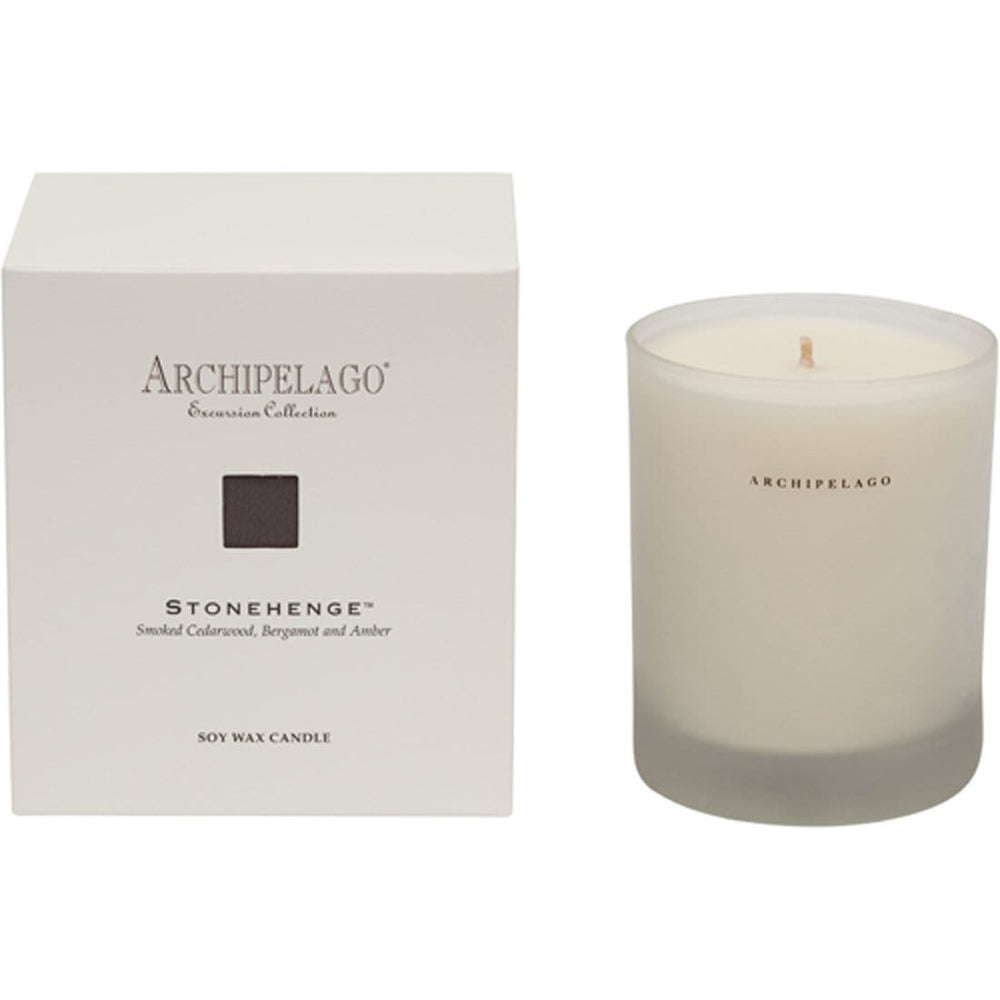 Archipelago Excursion Candle, Stonehenge - BedBath - High Fashion Home