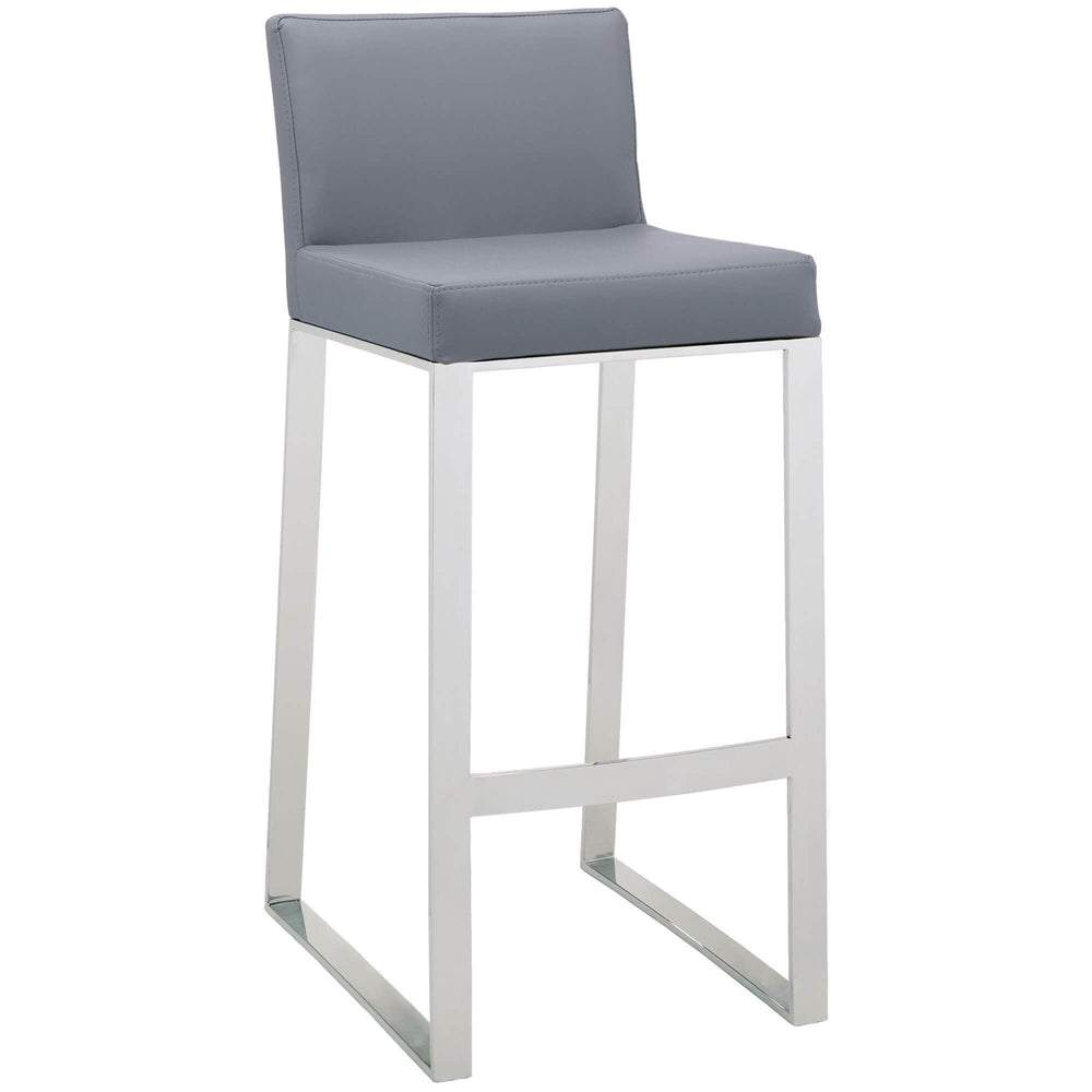 Architect Bar Stool, Grey - Furniture - Sunpan