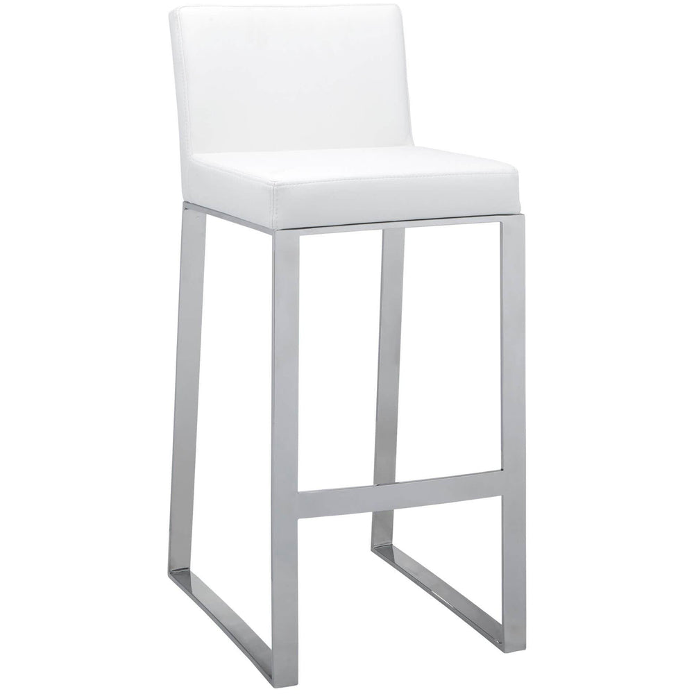 Architect Bar Stool, White - Furniture - Sunpan