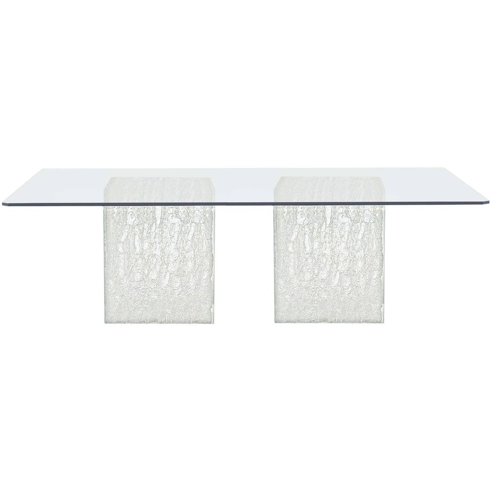 Arctic Rectangular Dining Table - Modern Furniture - Dining Table - High Fashion Home