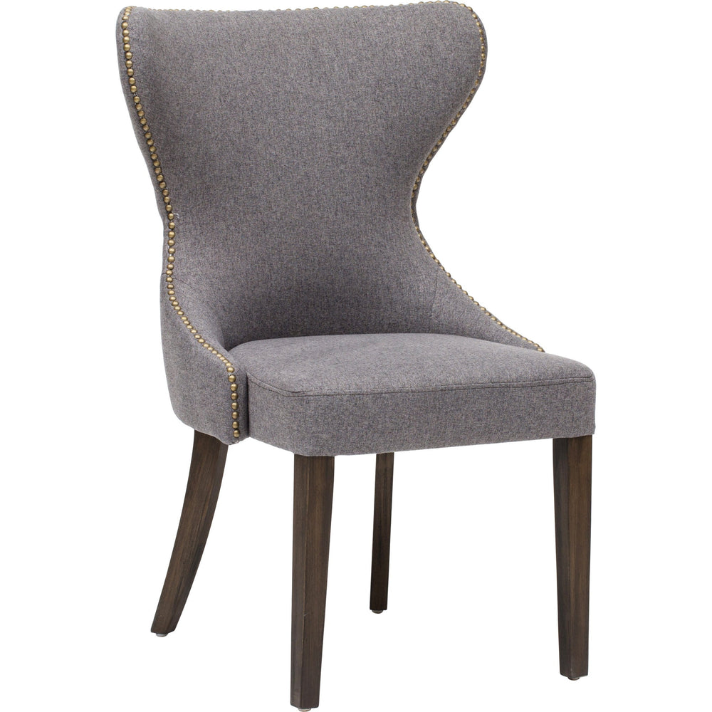 Ariana Dining Chair, Dark Grey - Furniture - Dining - Chairs & Benches