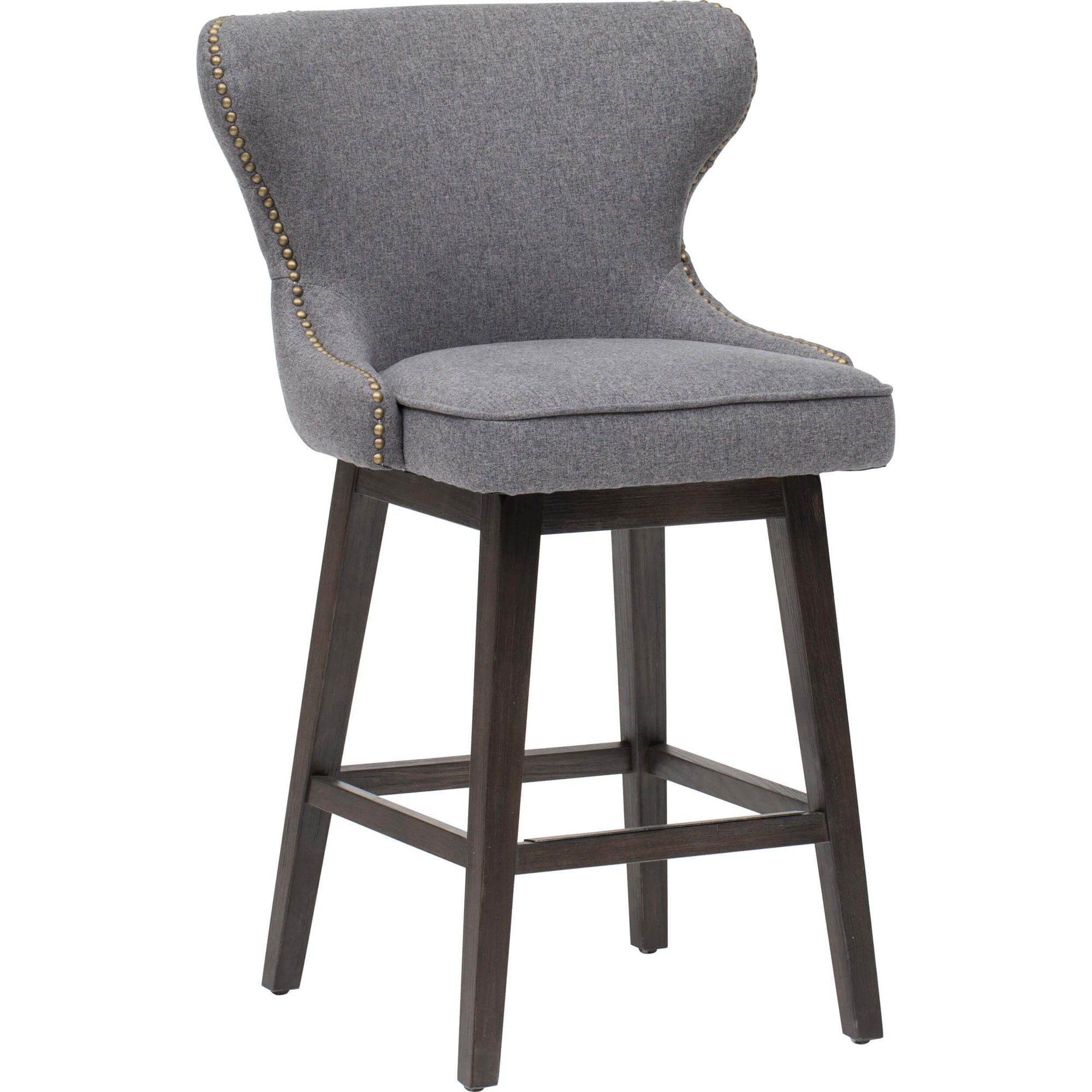 Outstanding Ariana Swivel Counter Stool Dark Grey High Fashion Home Andrewgaddart Wooden Chair Designs For Living Room Andrewgaddartcom