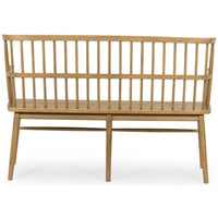 Aspen Bench, Sandy Oak - Furniture - Chaises & Benches