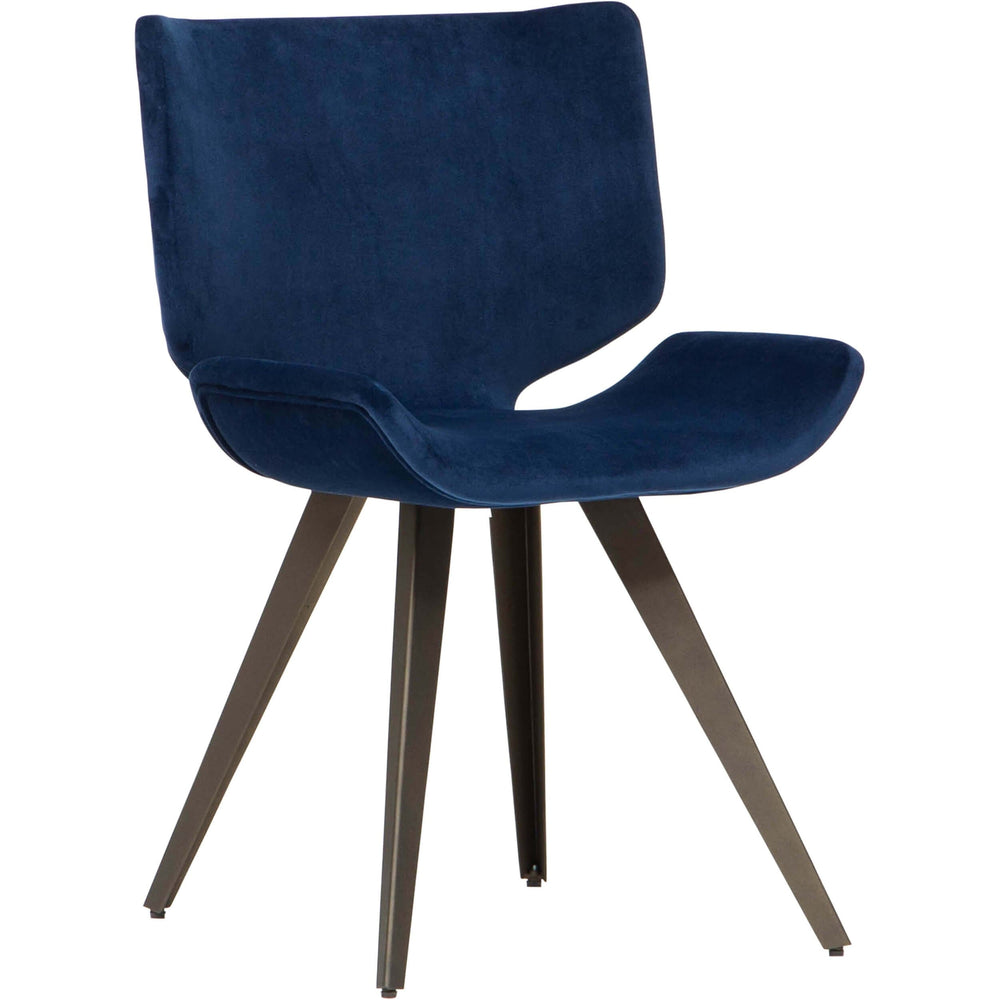 Astra Dining Chair, Petrol - Furniture - Dining - High Fashion Home