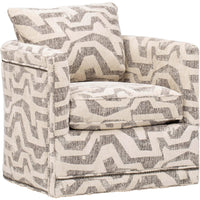 Aura Swivel Chair, 300305-84 - Furniture - Chairs - Fabric