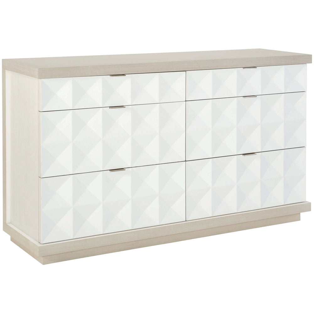 Axiom Shaped Dresser - Furniture - Bedroom - High Fashion Home
