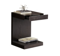 Bachelor TV Table, Espresso - Furniture - Accent Tables - End Tables