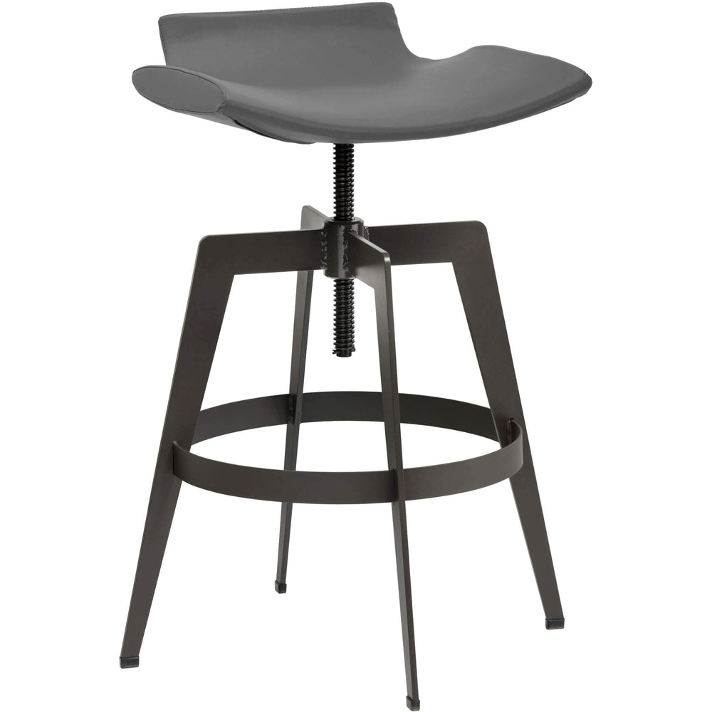 Bancroft Bar Stool, Graphite - Furniture - Dining - Dining Stools