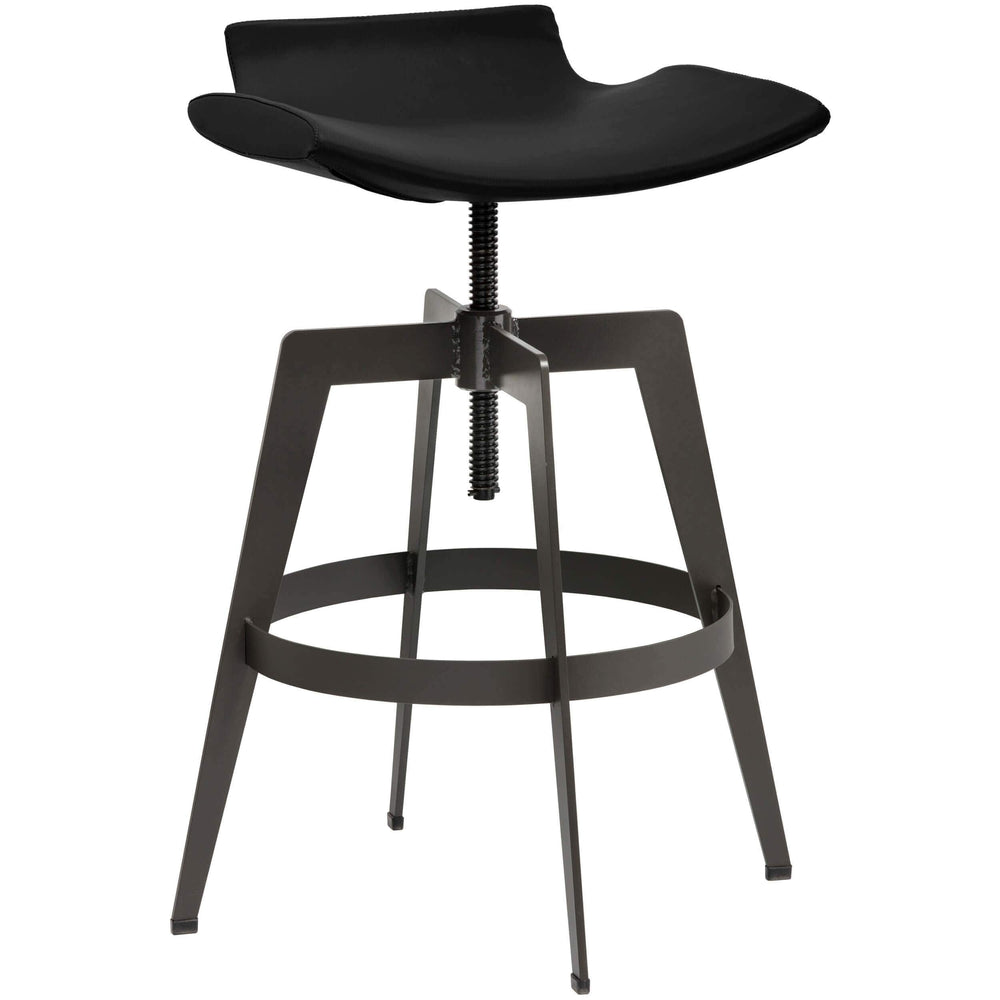 Bancroft Bar Stool, Onyx - Furniture - Dining - Dining Stools