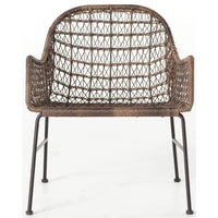 Bandera Outdoor Club Chair, Distressed Grey - Furniture - Chairs - High Fashion Home
