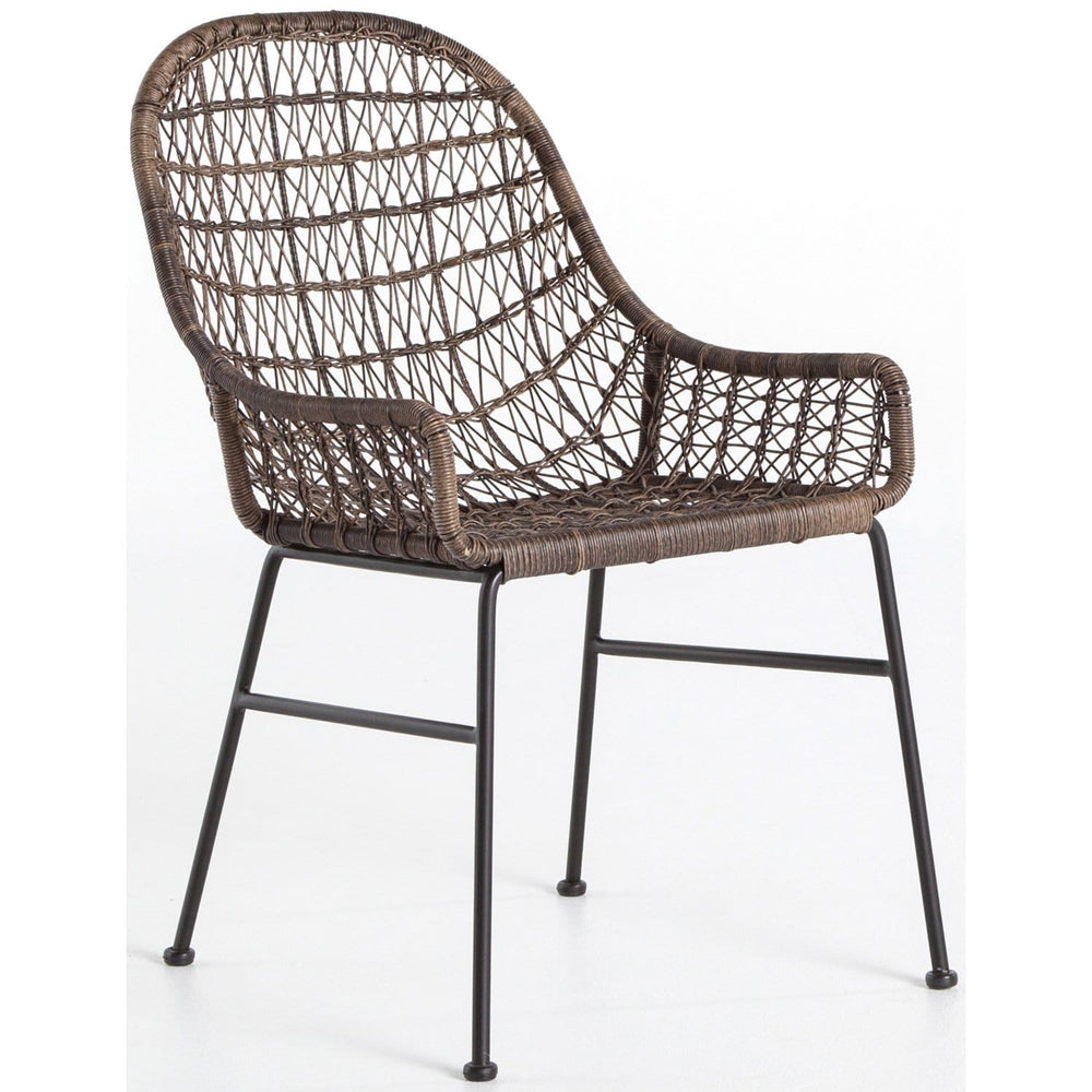 Bandera Outdoor Low Arm Dining Chair - Furniture - Dining - High Fashion Home