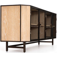 Benito Media Console - Furniture - Accent Tables - High Fashion Home