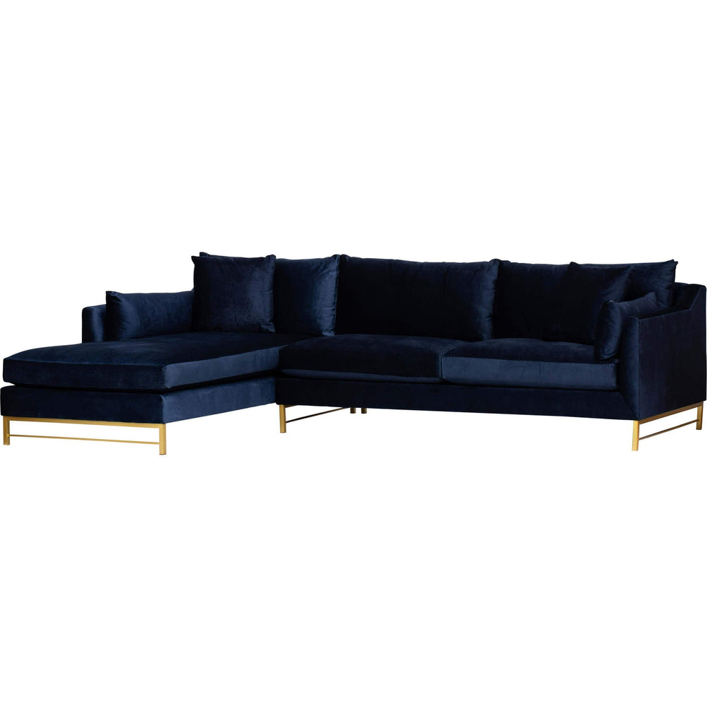 Benson Sectional, Brussels Midnight  - Furniture - Sofas - Fabric