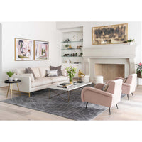 Benson Sofa, Crevere Cream
