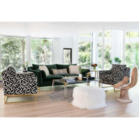 Skyler Chair, Onyx - Modern Furniture - Accent Chairs - High Fashion Home