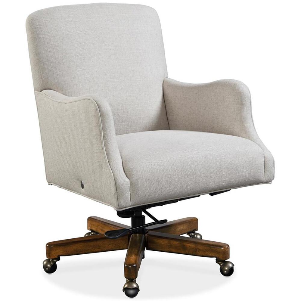 Binx Heated Executive Office Chair, Chateau Linen - Furniture - Chairs - High Fashion Home