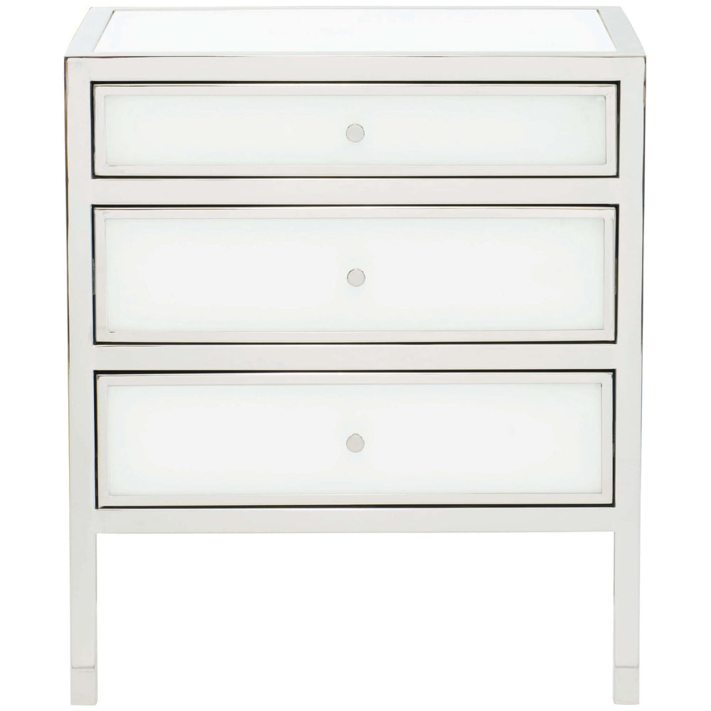 Blanca Nightstand - Furniture - Bedroom - High Fashion Home