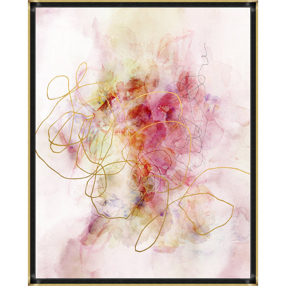 Blossoming Dreams Framed - Accessories - Canvas Art - Abstract