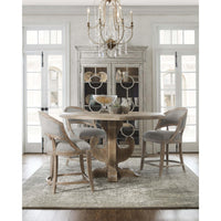 Boheme Ascension Wood Round Dining Table - Furniture - Dining - Dining Tables