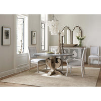 Boheme Ascension Zinc Round Dining Table - Furniture - Dining - Dining Tables