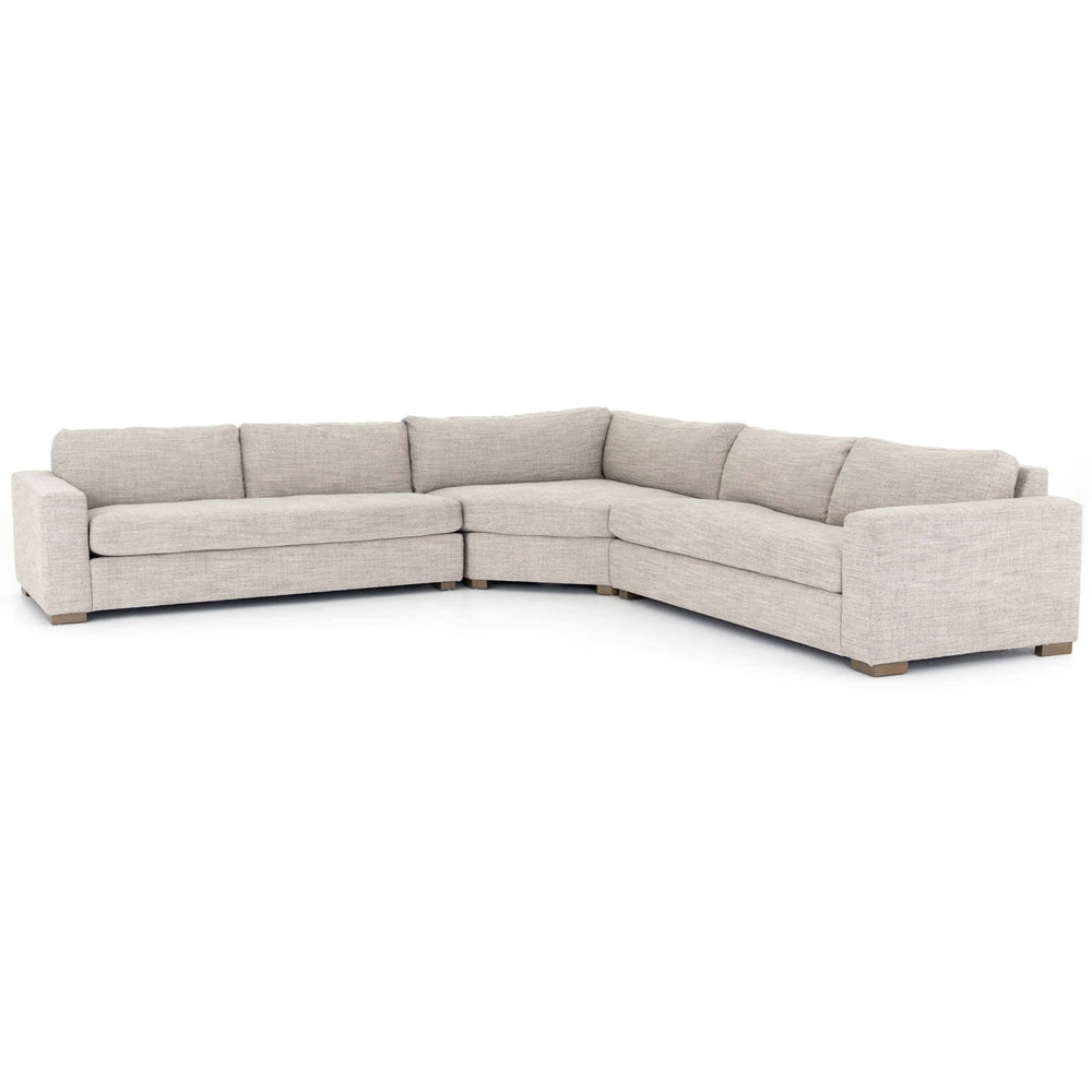 Boone Sectional, Large - Modern Furniture - Sectionals - High Fashion Home
