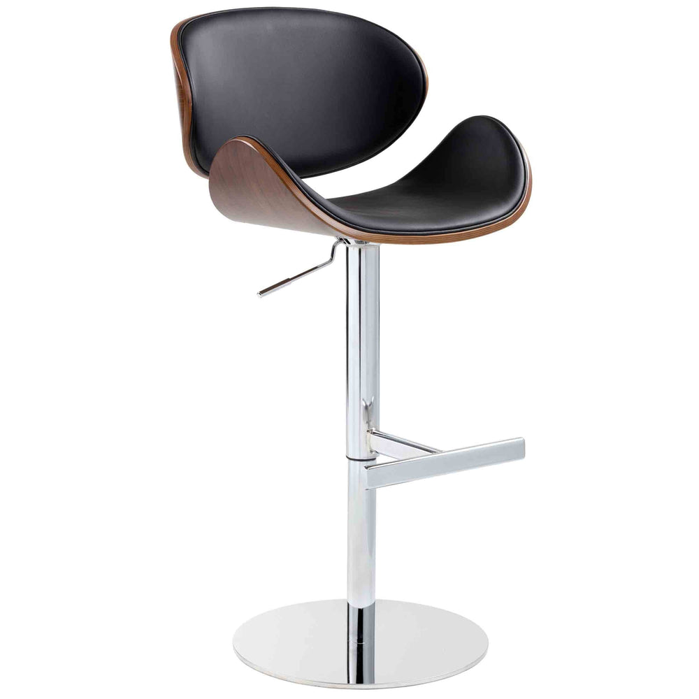 Bowen Adjustable Barstool, Onyx *NLA* - Furniture - Dining - Dining Stools