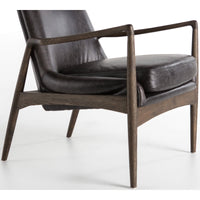 Braden Leather Chair, Durango Smoke - Furniture - Chairs - Leather