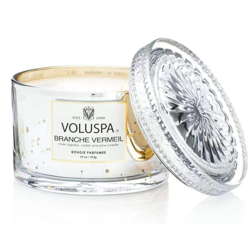 Voluspa Branche Vermeil Candle - BedBath - High Fashion Home